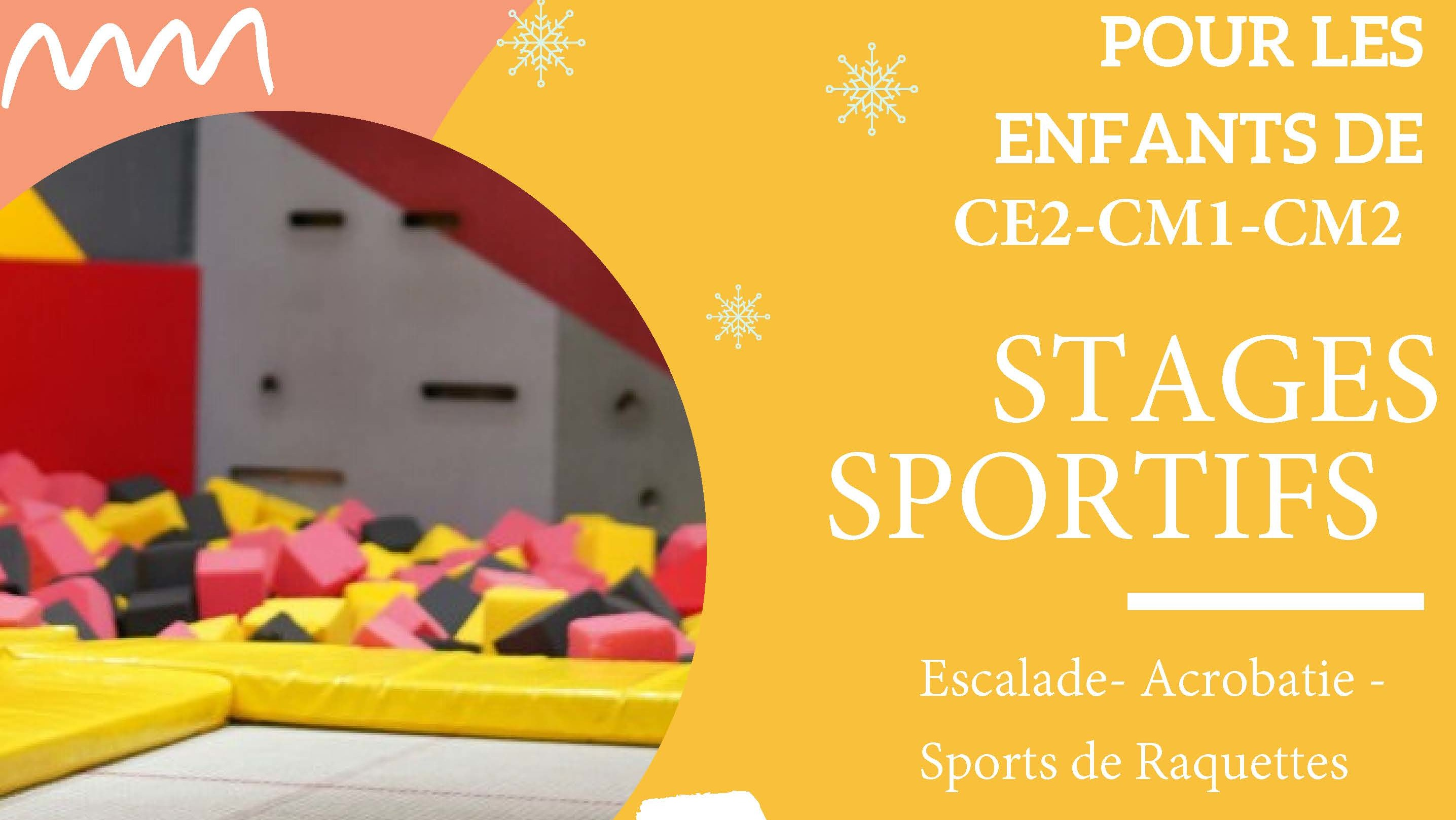 Flyer stage sportif Lanester