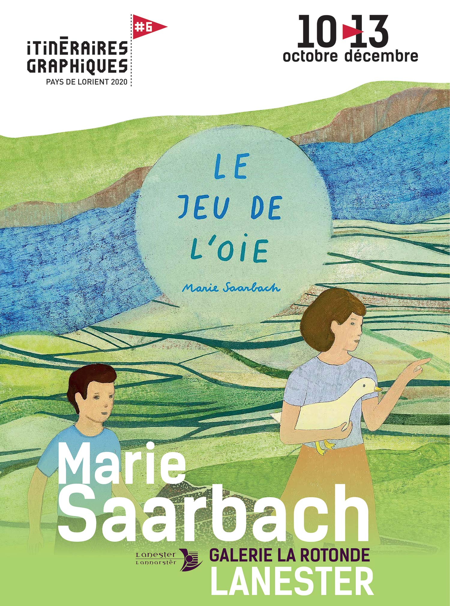Affiche exposition Marie Saarbach